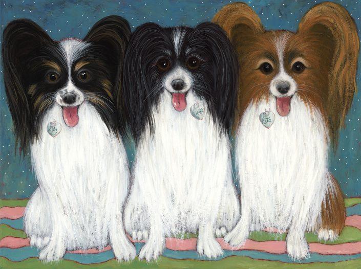 Lily, Violet & Rita