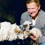 Richard Bock, Lori Faye's Husband - The Shepherd at work